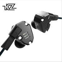 New KZ ZS6 2DD 2BA Hybrid Noise Cancelling In Ear Earphone HIFI Music DJ Monitor Running