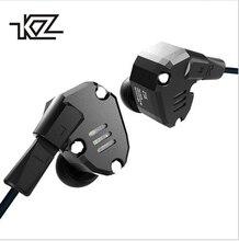 Новый плотным верхним ворсом KZ ZS6 2DD + 2BA Гибридный Шум шумоподавления наушники вкладыши HIFI музыка монитор DJ Бег Спорт MMCX наушники-вкладыши