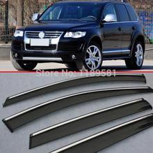 For VW Touareg 2007-2010 Window Wind Deflector Visor Rain/Sun Guard Vent