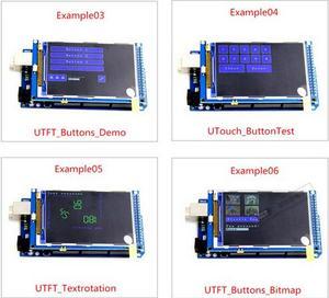 Image 3 - شحن مجاني! شاشة 3.2 بوصة TFT LCD وحدة الترا HD 320X480 متوافقة مع اردوينو لوحة MEGA 2560 R3