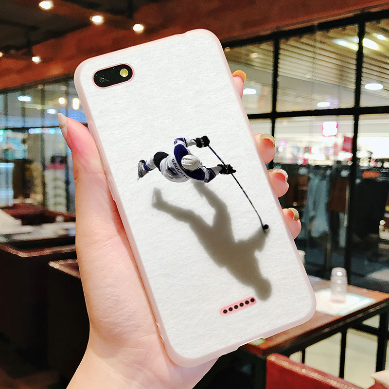 Silicone Phone Case Hockey Sport Fashion for Xiaomi Redmi S2 Note 4 4X 5 5Pro 5A Plus 6 6A 7 Pro Cover in Fitted Cases from Cellphones Telecommunications