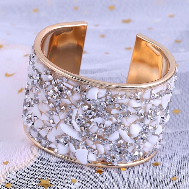 Купить lzhlq женский браслет мода стиль металл кристалл женские украшения