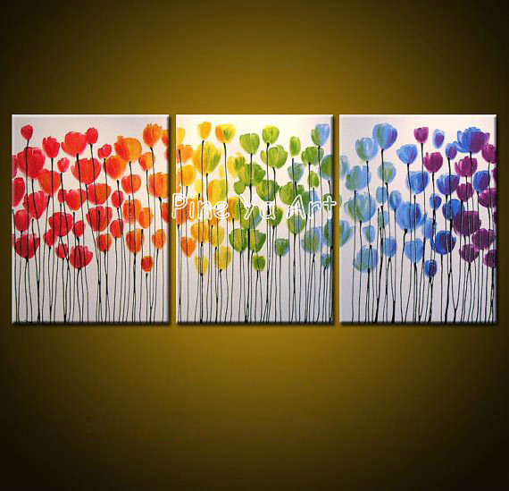 3 piece canvas art sets abstract canvas wall decorative pictures ...