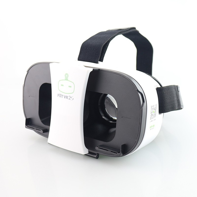 NEW FIIT 2S Plastic Version Virtual Reality 3D Glasses google cardboard vr box vr park oculos for huawei xiaomi meizu lg samsung