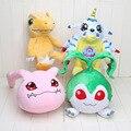4 стили Аниме Digimon Плюшевые Игрушки Agumon Gabumon Tanemon Koromon Кукла детские игрушки рождественский Подарок
