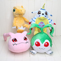 4styles Anime Digimon Plush Toy Agumon Gabumon Tanemon Koromon Stuffed Doll kids toys christmas Gift