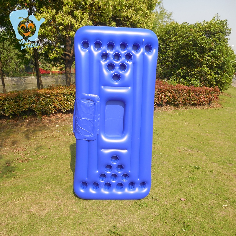 Swimming Float Pool Inflatable Toys 24 hole Inflatable Beer Pong Table With Cooler Inflatable Float Mattress