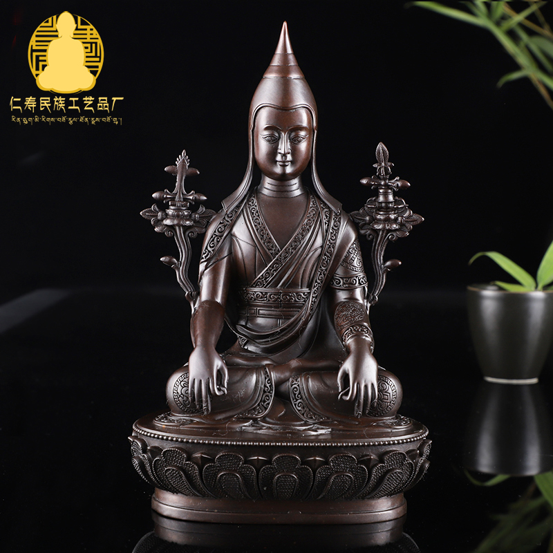 Pure Copper Buddha Decoration /Long Qin Buddha /pure Copper made Ancient Color Buddha 3 inch 5 inches 7 inchesPure Copper Buddha Decoration /Long Qin Buddha /pure Copper made Ancient Color Buddha 3 inch 5 inches 7 inches