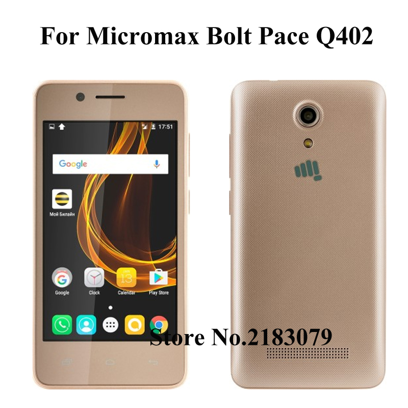 For Micromax Q402 Glass Screen Protector For Micromax Bolt Pace Q402 Bharat 2 Plus Q402+ Tempered Glass Film Protective Screen