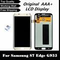 100% testado lcd para samsung galaxy s7 edge g935 g935f G935A G935FD G935P display LCD touch screen Digitador preto sliver ouro