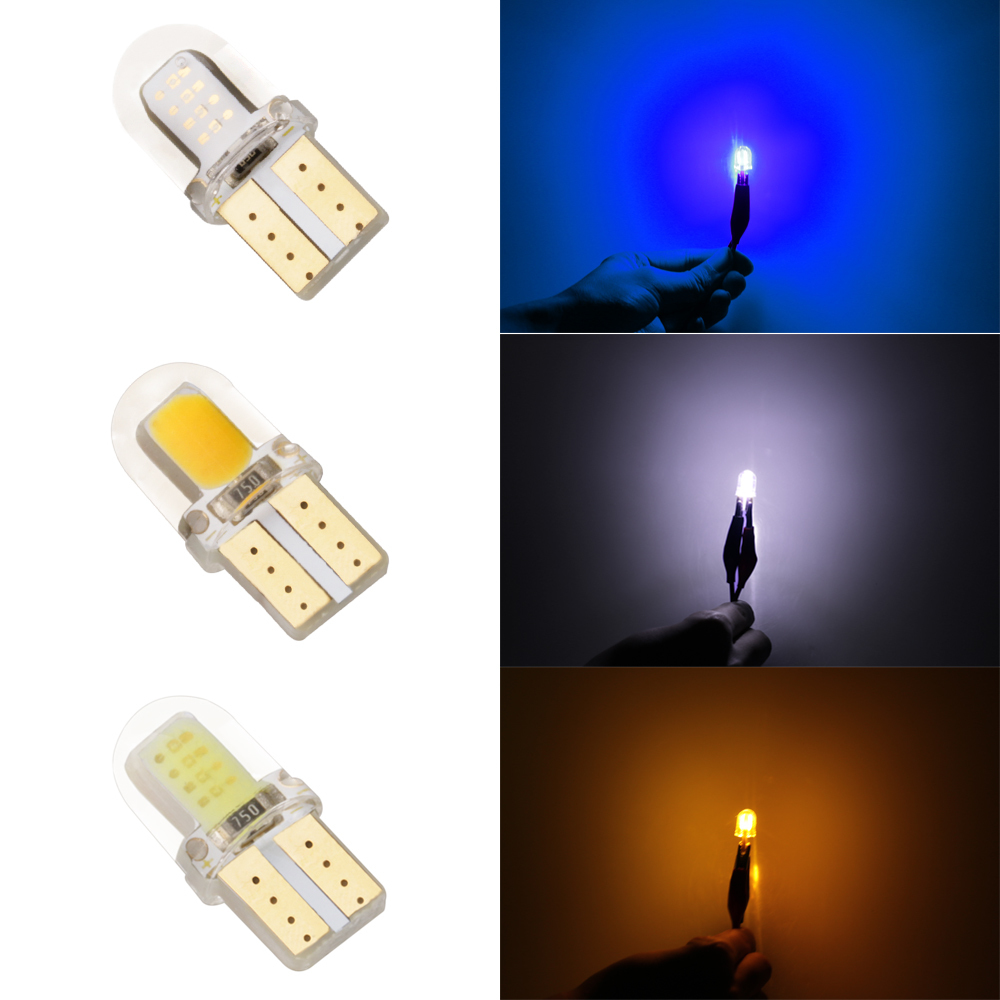 1 Pcs LED W5W T10 194 168 W5W COB 8SMD Led Parking Bulb Auto Wedge Clearance Lamp Silica Bright White License Light Bulbs bamboo wicker rattan miss skirt shade pendant light fixture nordic art deco suspension lamp luminaria salon dining table room