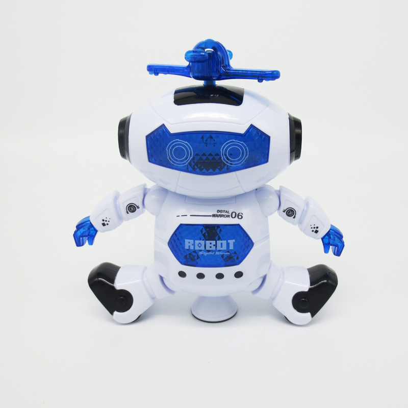 Smart Rotation Singing Dancing Space Robot Light Cool Children Puzzle Interactive Smart Toys