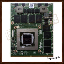 Original GTX 680M GTX680M 2G N13E-GTX-A2 Video Card For Dell Alienware M17X M18X R1 R2 R3 R4 DDR5 Display GPU Graphic Card