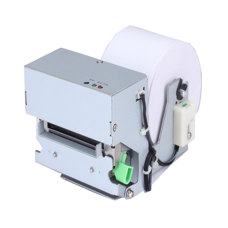 2 inch panel receipt printer with auto cutter high-performance thermal printing turnkey module 80mm paper diameter for kiosk ATM thermal cash register paper printing paper white 80mm