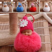 Маленькие куклы с пряжкой для ключей милые цветные маленькие плюшевые маленькие куклы подвеска рюкзак сумка с помпонами маленькие куклы для маленьких детей