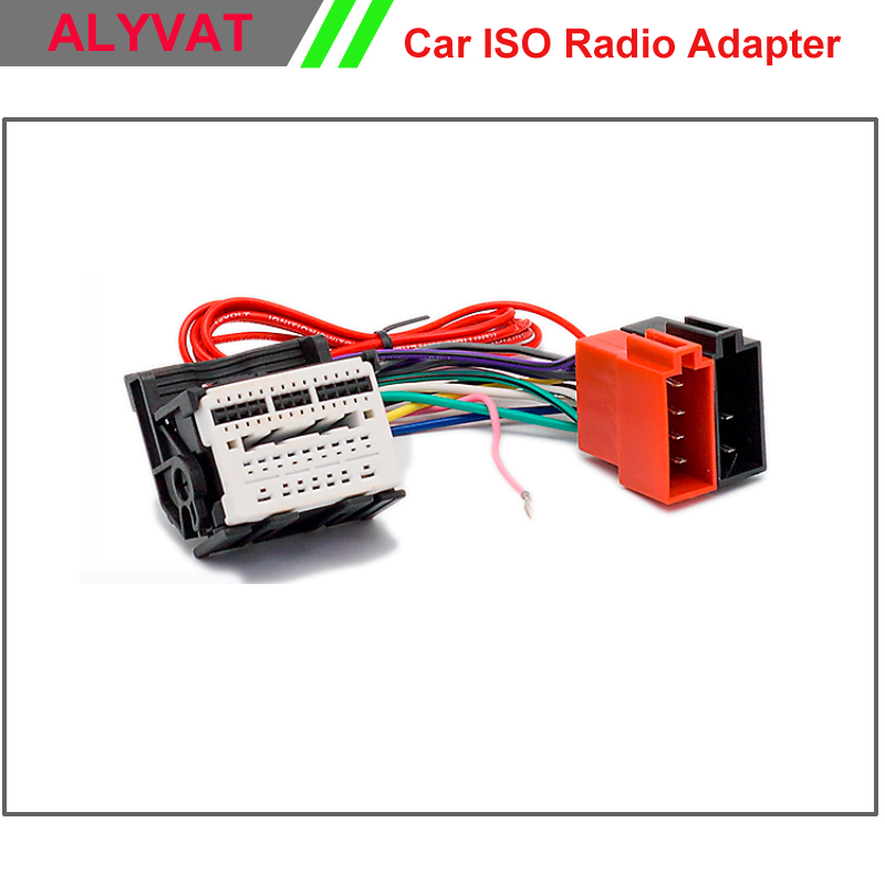 Car Iso Stereo Wiring Harness For Chevrolet Cruze Opel