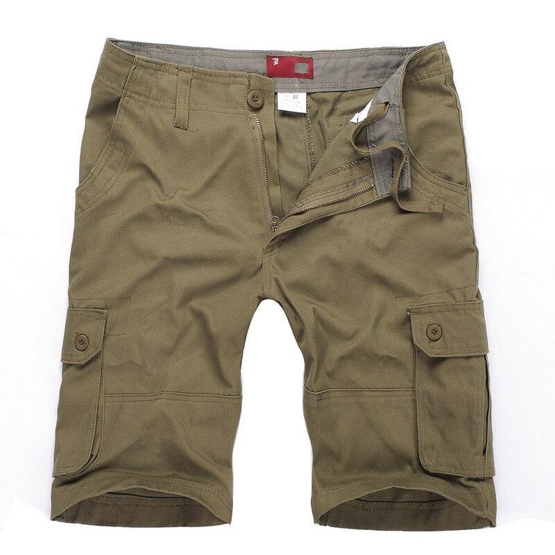 Men's Shorts Plus Size Shorts Men:MAX Waist 117CM 30-42 44 46 L-XXXL 4XL 5XL 6XL Summer 2019 Male Loose Overalls Trousers
