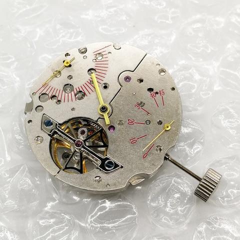 Acessórios de Relógio Movimento Clássico Dentro Esqueleto Relógio Automático Mecânico Mãos Dia Data Hora Acessórios Ferramentas 2025