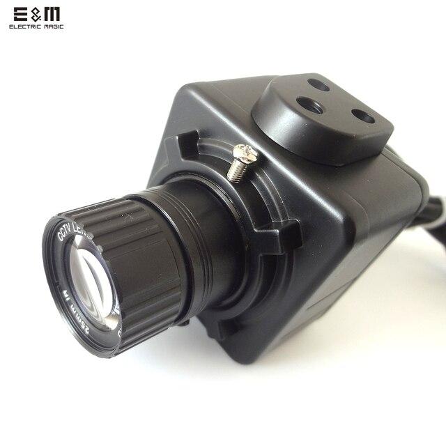 E & M 0.0001LUX 1200 tvlines 1/2 mccd Prime 300 Вт Камера BNC AV Ночное видение Мониторы прицел объектива DIY инфракрасный безопасности