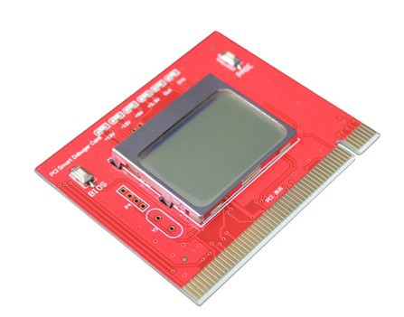PC computer PCI Analyzer Tester Diagnostic Debug POST Card LCD English display
