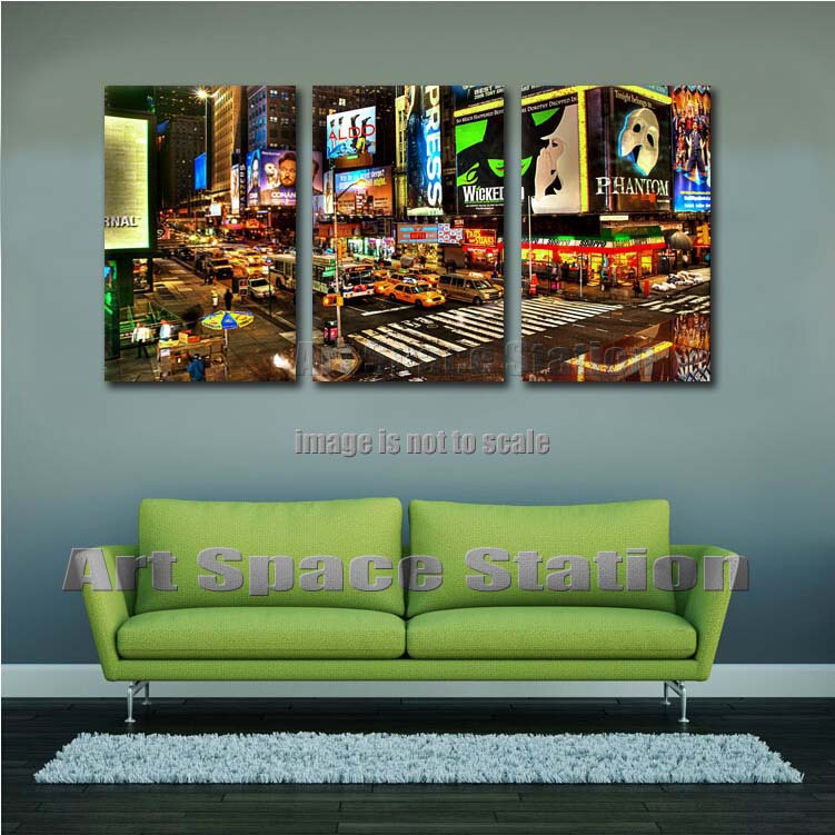 Wicked broadway musical poster new york city street advertising picture art print canvas home office decoration no framed in painting calligraphy from