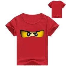 Z & y 3-16years 2019 meninos t camisa legoes camiseta bebê ninjago menino tshirt mangas curtas crianças roupas de verão da criança menino camisas