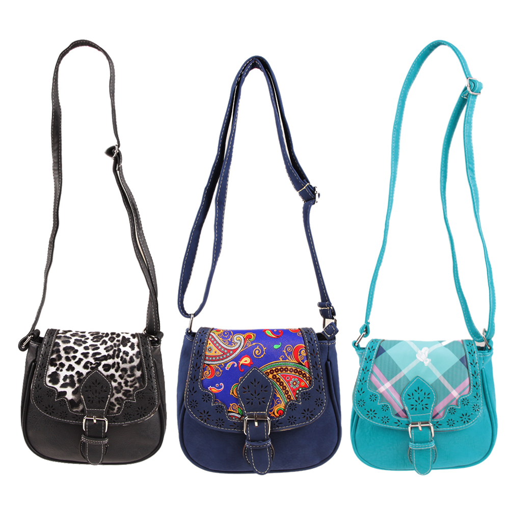 hot National Style Women Messenger Bags Vintage Shoulder Bag PU Leather Leopard Ladies Crossbody 3 Colors Luxury Hollow Out tmyoy 2016 new design vintage tassel hollow women messenger bags beauty national women shoulder bag pu leather bags bolsa bg214