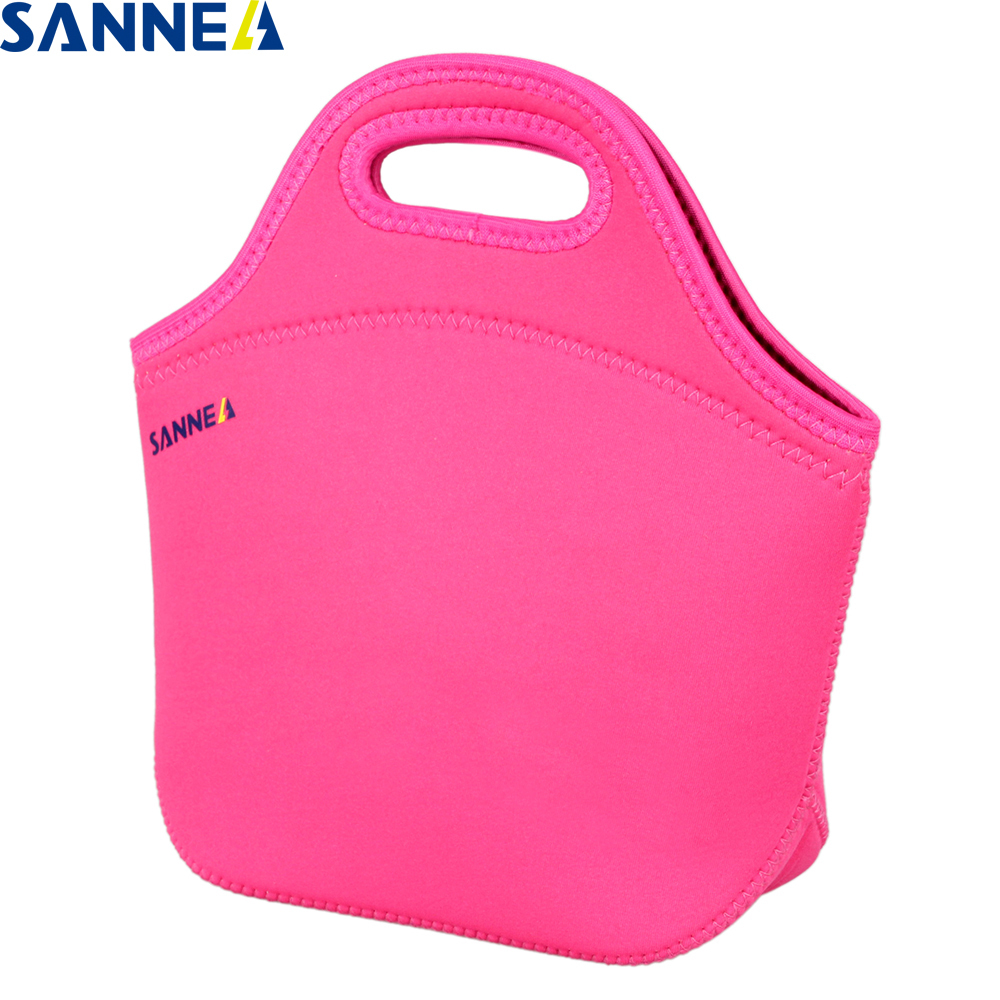 SANNE Thermo Lunch Bags Cooler Insulated Lunch Bags for Women Kids Thermal Bag Lunch Box Food Picnic Bags Tote Handbags SBR004