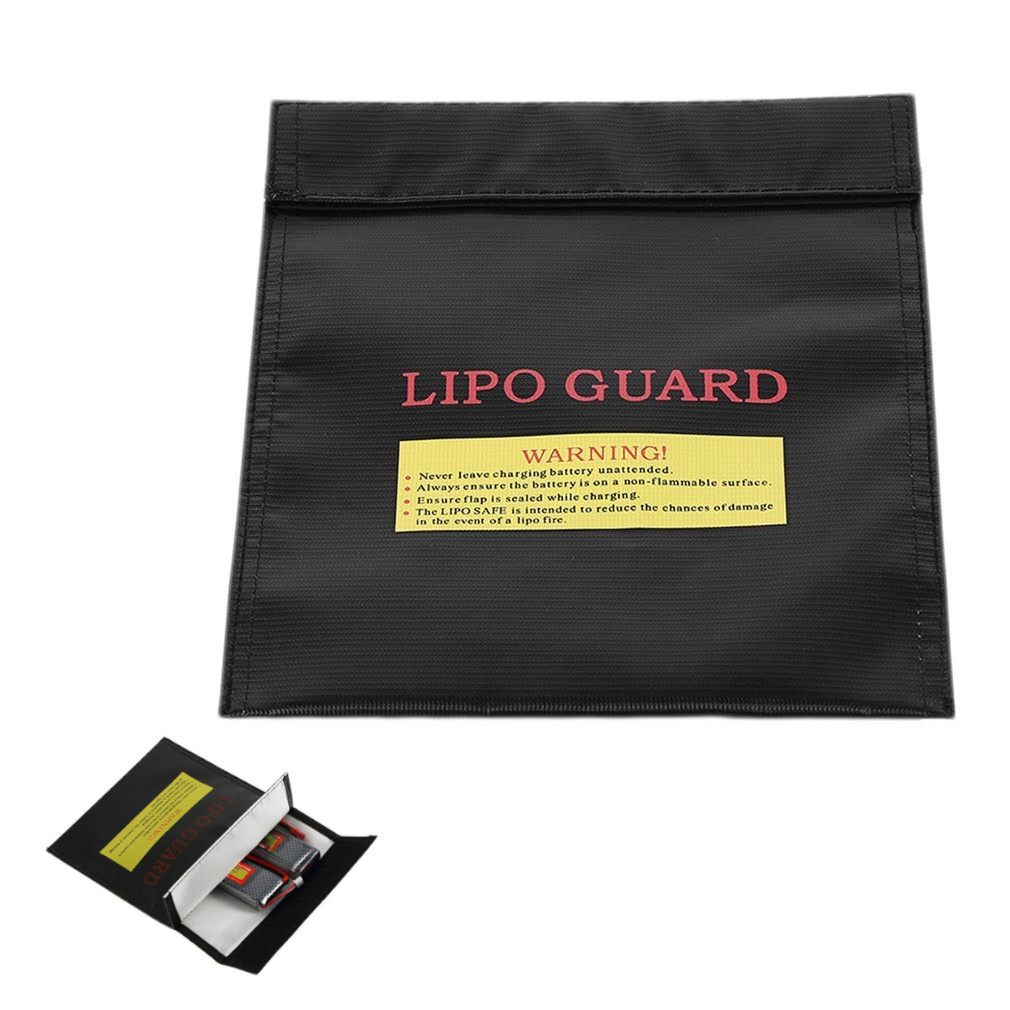 30*23cm Fireproof Lipo Battery Safety Bag Explosion-proof Guard Charge Sack Protection Bag for RC LiPo Battery Charging(China)