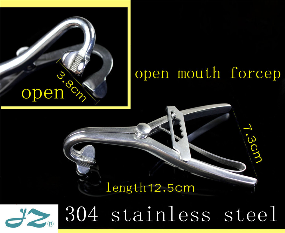 Instrument dentaire médical JZ 304 écarteur de lèvre de joue dentaire d'acier inoxydable ouvre-bouche