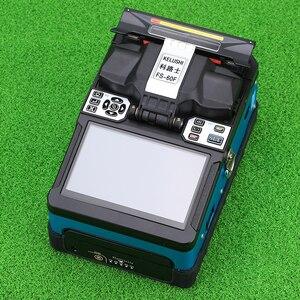 Image 3 - KELUSHI FTTH automatyczne połączenie światłowodowe Splicer maszyna FS 60F światłowodowe Splicers urządzenie do zgrzewania sklejania niebieski