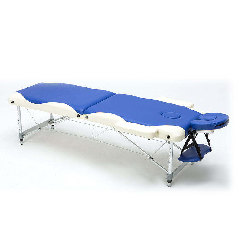купить Professional Portable Folding Massage Bed with Carring Bag Salon Furniture Wooden Bed Foldable Beauty Spa Massage Table Bed по цене 14099.68 рублей