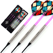 CUESOUL Swords Series 18 Grams 95% Tungsten Soft Tip Darts Set 004 cuesoul 18 grams soft tip tungsten darts 85