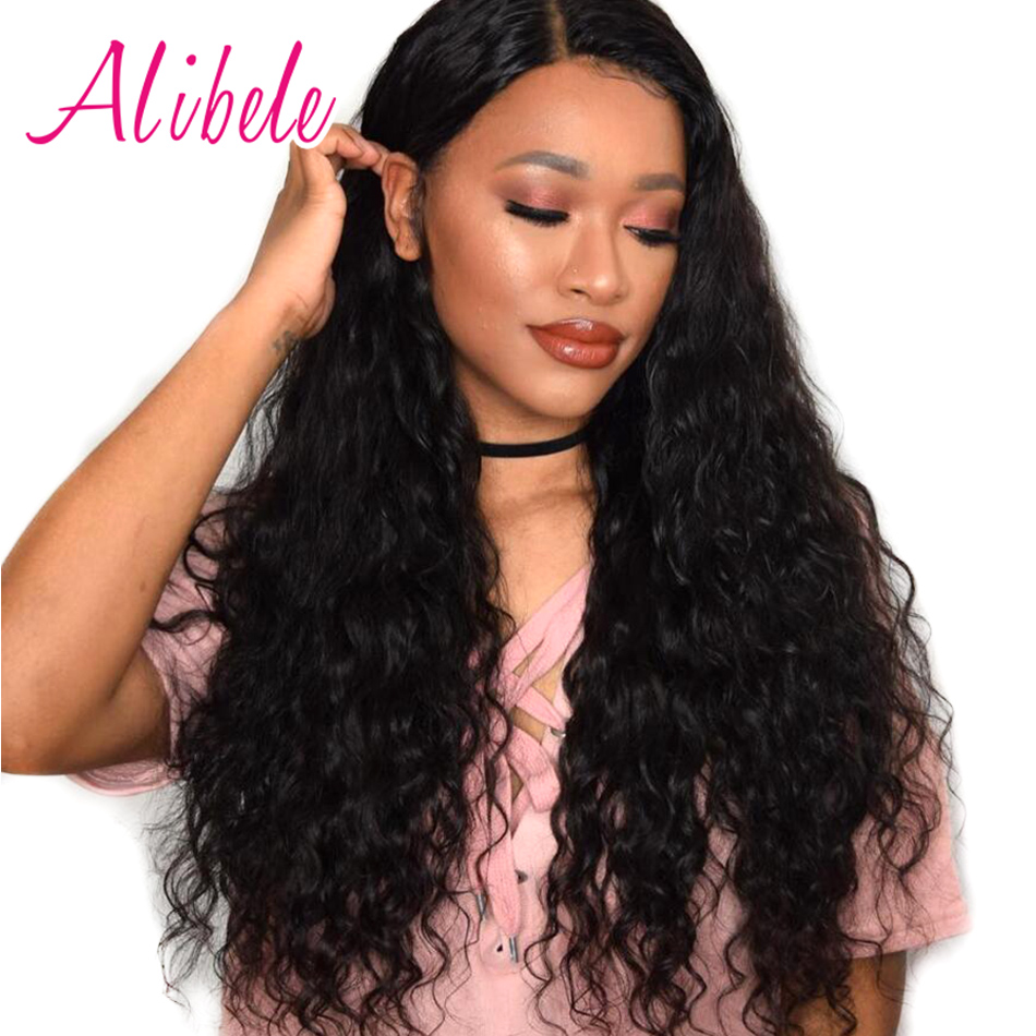 Aliexpress buy alibele hair brazilian water wave human hair aliexpress buy alibele hair brazilian water wave human hair bundles 1b ocean sea summer non remy hair weaves extensions 100gpc free shipping from pmusecretfo Images