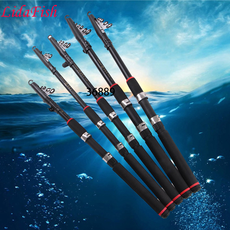Ny Hot Hailong Wang Hai-pol 99% kolfiber fiskestänger - Fiske