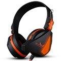 MAIS NOVO Ovann X17 Gaming Stereo Headset Baixo Fone De Ouvido Fone De Ouvido Sobre orelha 3.5mm & USB Com Fio com Microfone para PC Computador Laptop