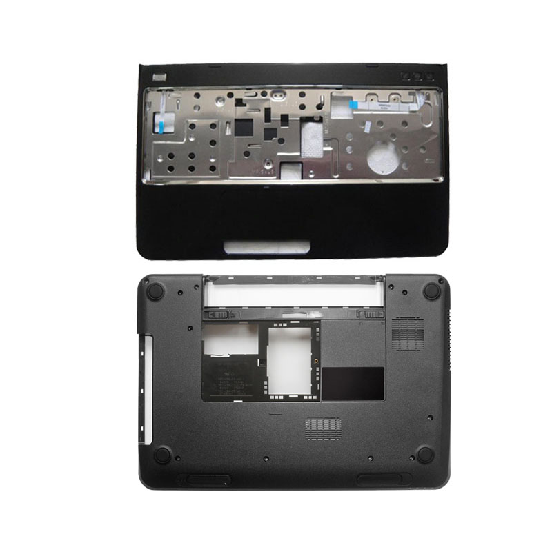 NEW Bottom Base Case Cover&Palmrest upper case cover for DELL Inspiron 15R N5110 M5110 39D-00ZD-A00 With speaker/Without speaker