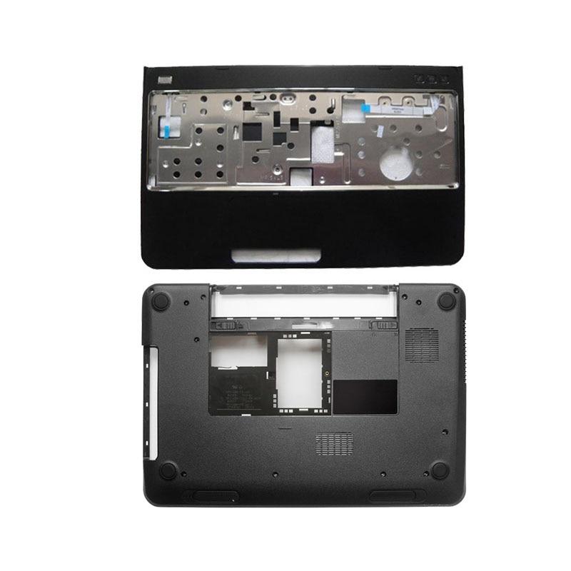 Nova base inferior caso capa & palmrest capa superior para dell inspiron 15r n5110 m5110 39d-00zd-a00 com alto-falante/sem alto-falante