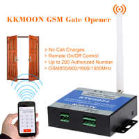GSM Door Gate Opener Remote On/Off Switch Free Call SMS Command Support 850/900/1800/1900MHz