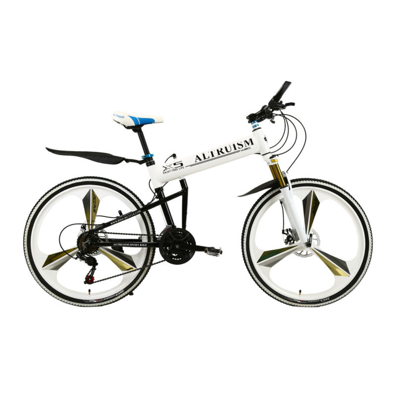 Цена за Altruism X5 Pro 21 Скорость Алюминиевый Складной Велосипед Рама Горный Велосипед 26 Дюймов Дисковые Тормоза Высокий Мужчина Велосипед MTB