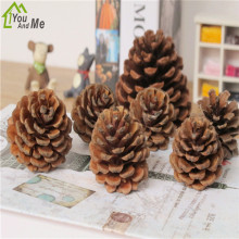 10PcsKits Christmas Tree Christmas Pine Cones Holiday Party Festival Hanging Ornaments Decor Christmas Decorations For Home upside down xams tree decorative hanging ornaments 24 inch artificial inverted christmas tree decorations y
