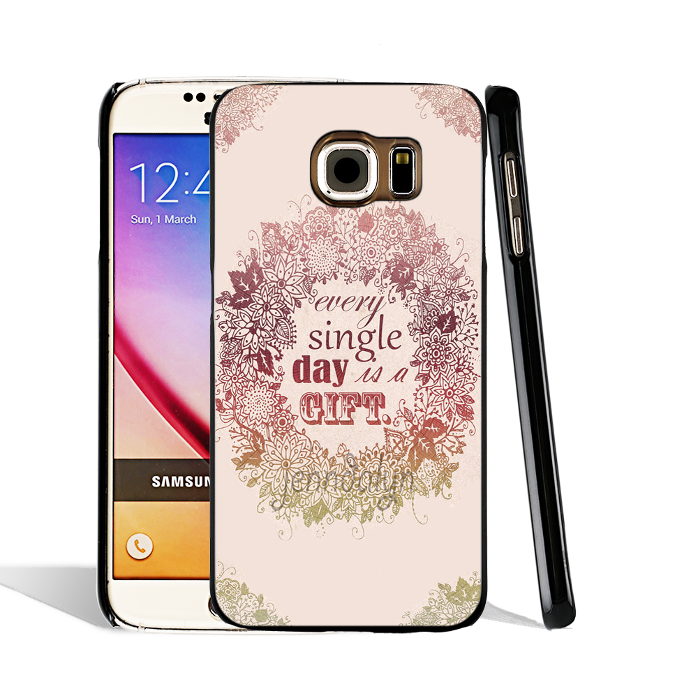 05546 Boho Quotes Tumblr Cell Phone Case Cover For Samsung Galaxy S7