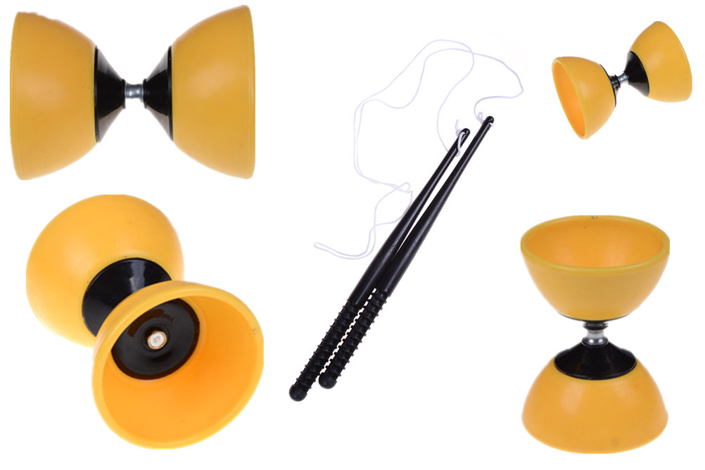 Professional Plastic Yoyo Ball Kids Toys Ball Bearing String Trick Yoyo Diabolo Yo-Yo Ball Funny Yoyo Educational Toys