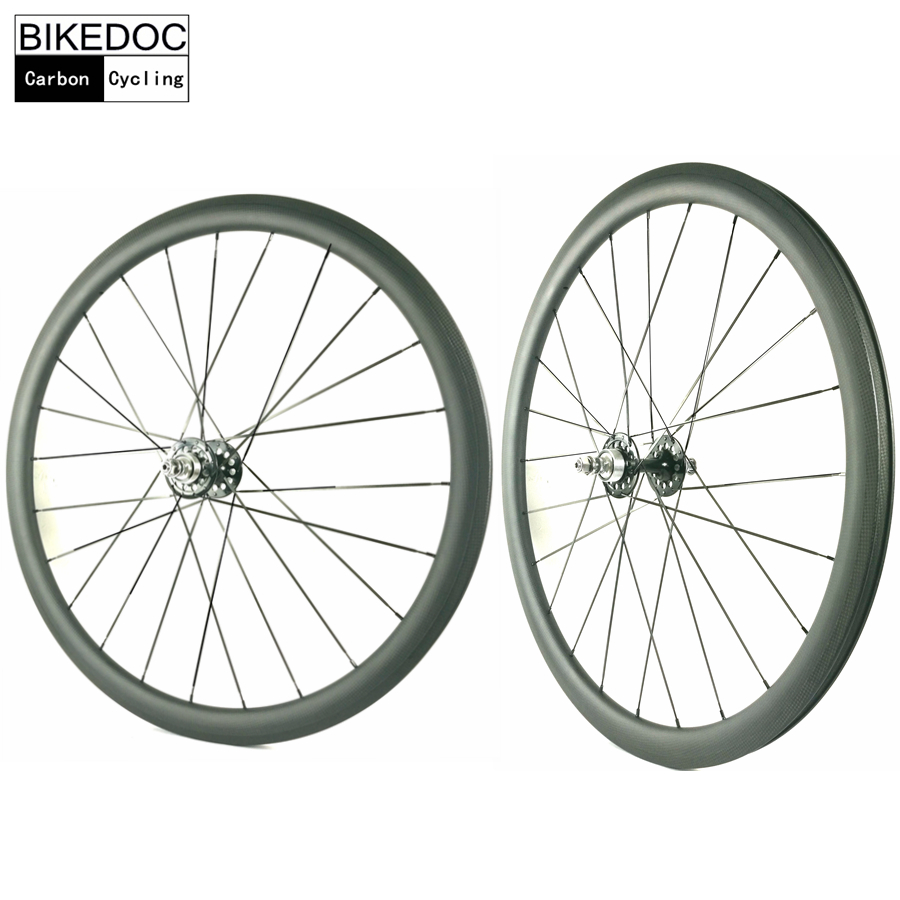 BIKEDOC 50MM Tubular Roue Velo Fixie Bicycle Wheel Fixed Gear 700C Carbon Track Bike Wheels fixie bicycle 5spoke single speed fixed gear fixie track wheel and wheelset 700c all colors available fixie bike velo wheel