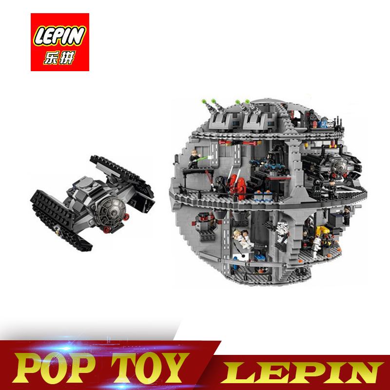 New Lepin 05063 4016pcs Star Wars Series Death Star Building Block Bricks Toys Kits Compatible legoed with 75159 lepin 05035 star wars death star limited edition model building kit millenniums blocks puzzle compatible legoed 75159