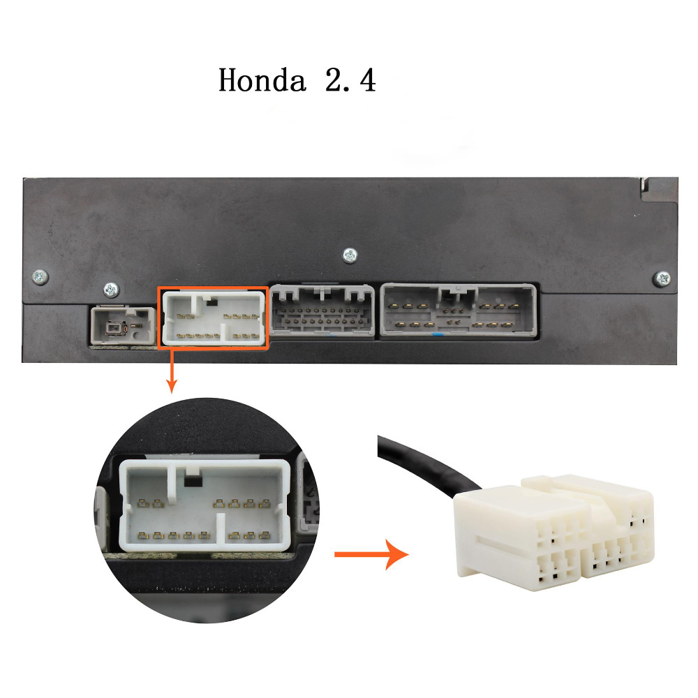 Moonet Car Audio CD Changer 3.5mm liides AUX adapter Mazda / 3/5/6 / - Autode Elektroonika - Foto 4