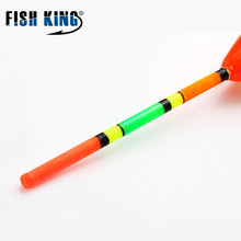 5Pcs/Set Outdoor Fishing Floats Hard Tail Set Buoy Bobber Floats Fluctuate Fishing Stick Mix Size Color For Fishing Accessories