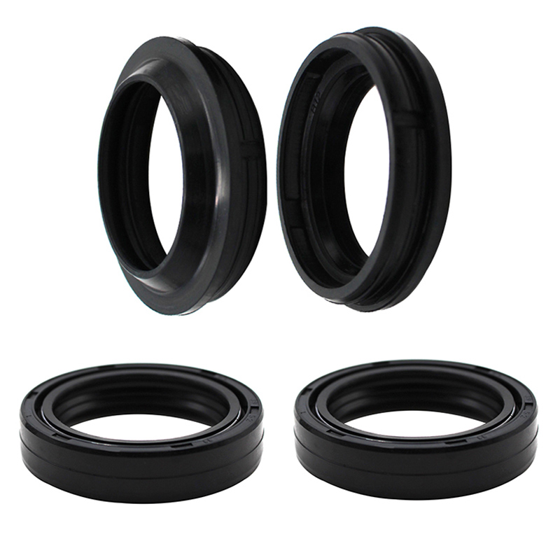 Cyleto Front Fork Oil Dust Seal 41 x 53mm for Suzuki GSF400 GSF 400 Bandit 400 1991 1992 1993 GSF600S GSF 600 S Bandit 600 1996 1997 1998