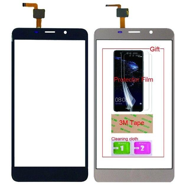 5.7 모바일 터치 스크린 휴대 전화 leagoo m8/m8 프로 터치 스크린 유리 디지타이저 패널 렌즈 센서 무료 접착제