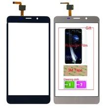 5.7 mobilny ekran dotykowy telefon komórkowy dla Leagoo M8/M8 Pro dotykowy digitalizator do szkła ekranu Panel obiektywu czujnik bezpłatny klej